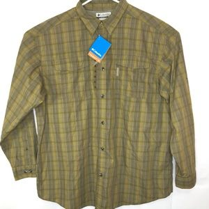 Columbia Omni-Shade Vented Fishing Shirt Men XXL